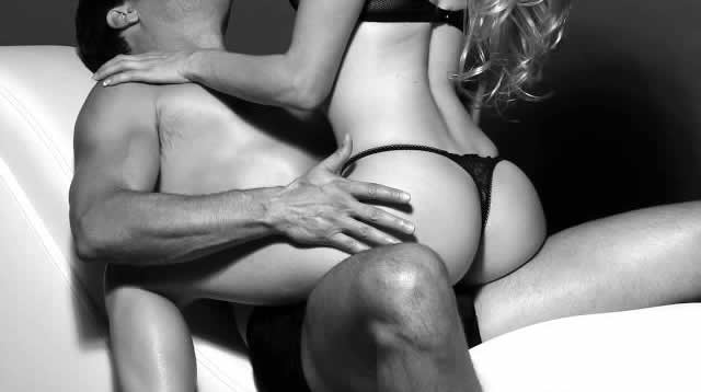 Woman on top of man | black white photography | Lexi Sylver
