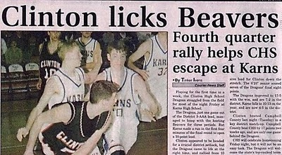 Clinton Licks Beavers