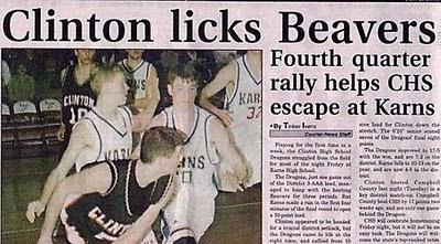 Clinton Licks Beavers