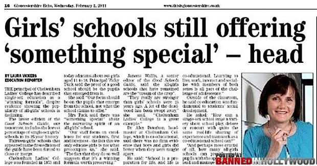 Girls School Still Offering Something Special - Head