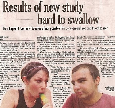 Results of New Study Hard to Swallow