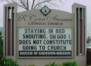#1 Top 10 Dirty Church Signs by Lexi Sylver