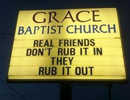 #10 Top 10 Dirty Church Signs by Lexi Sylver