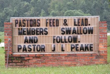 #2 Top 10 Dirty Church Signs by Lexi Sylver