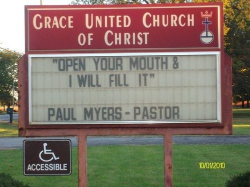 #6 Top 10 Dirty Church Signs by Lexi Sylver