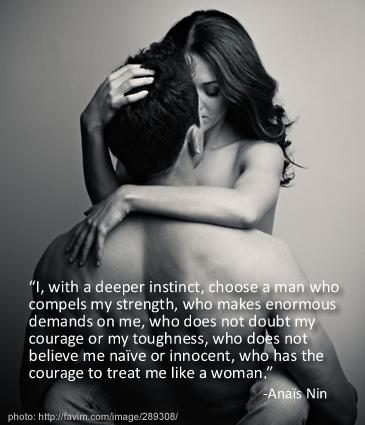 Anais Nin quote on Lexi Sylver.com