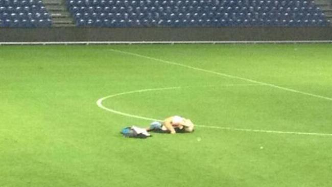 Danish Couple Caught Having Sex on Soccer Field via LexiSylver