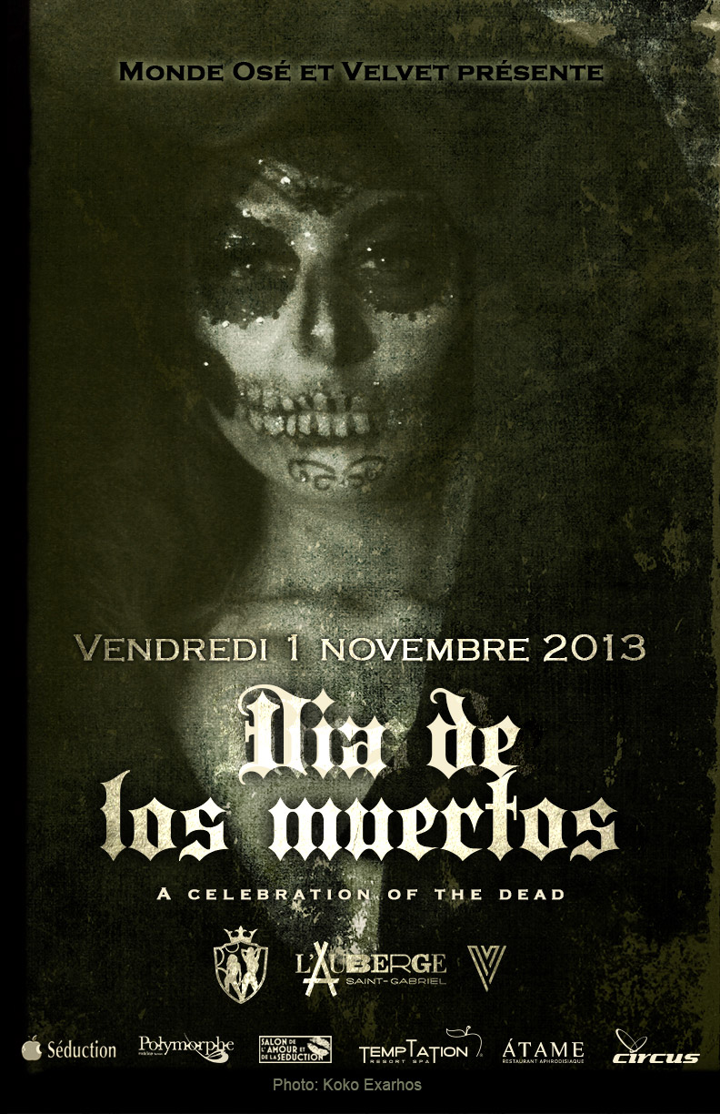 Celebrate Dia de los muertos with Monde Ose - November 1 2013