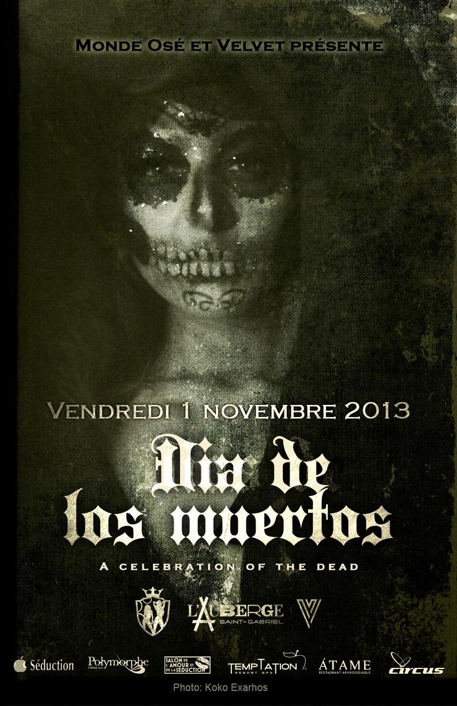 Celebrate Dia de los muertos with Monde Ose - November 1 2013