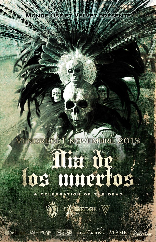 Celebrate Dia de los muertos with Monde Osé