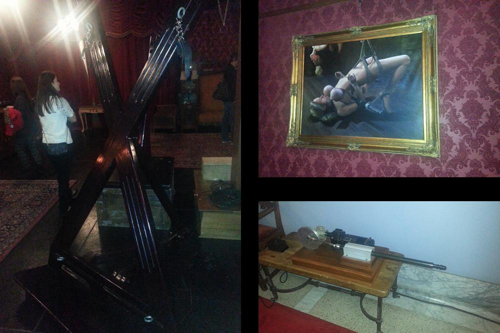 The Upper Floor   Kink.com studios tour   San Francisco Armory   Lexi Sylver