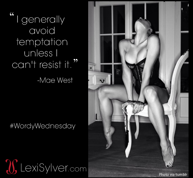 Mae West quote | Wordy Wednesday | Lexi Sylver