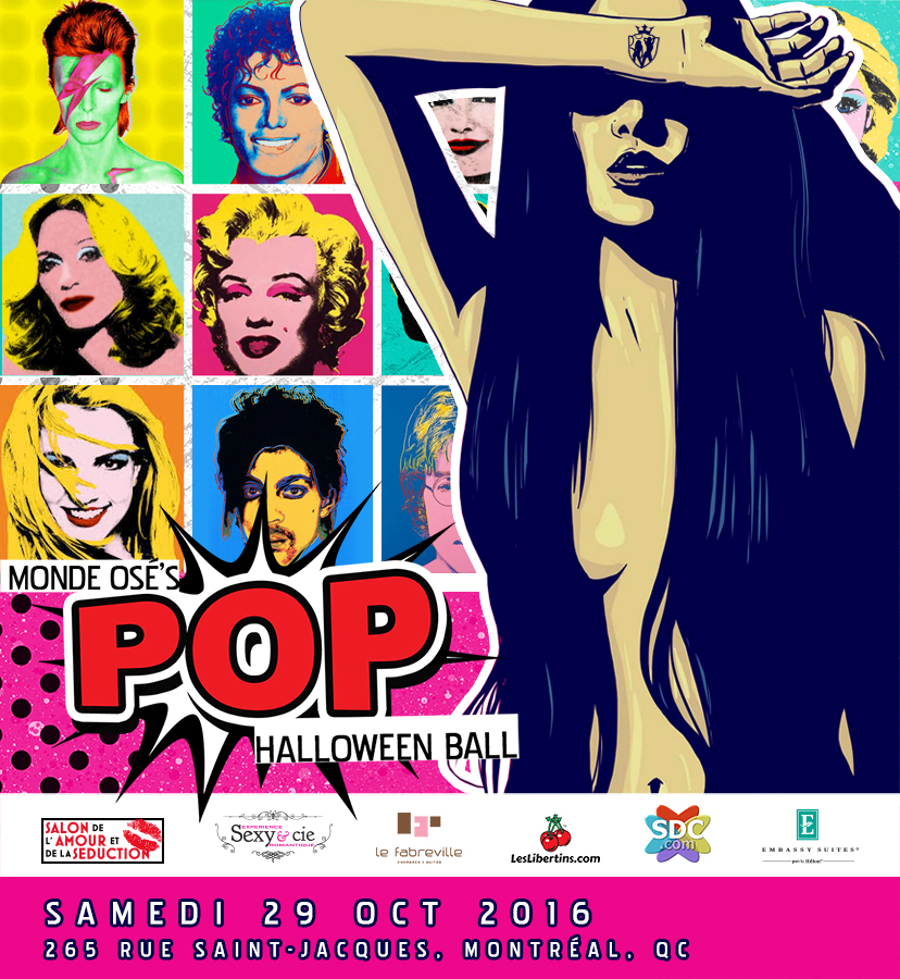 Monde Ose POP Halloween Ball 2016