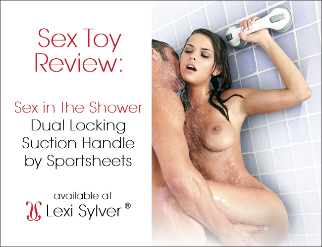 Sex in the Shower Dual Locking Suction Handle by Sportsheets