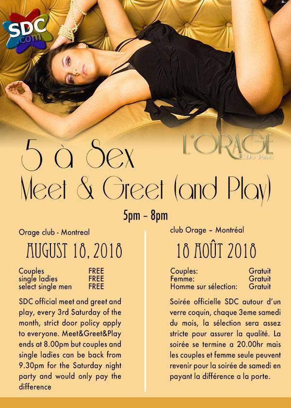 SDC 5 a Sex at l'Orage Club Montreal | Lexi Sylver