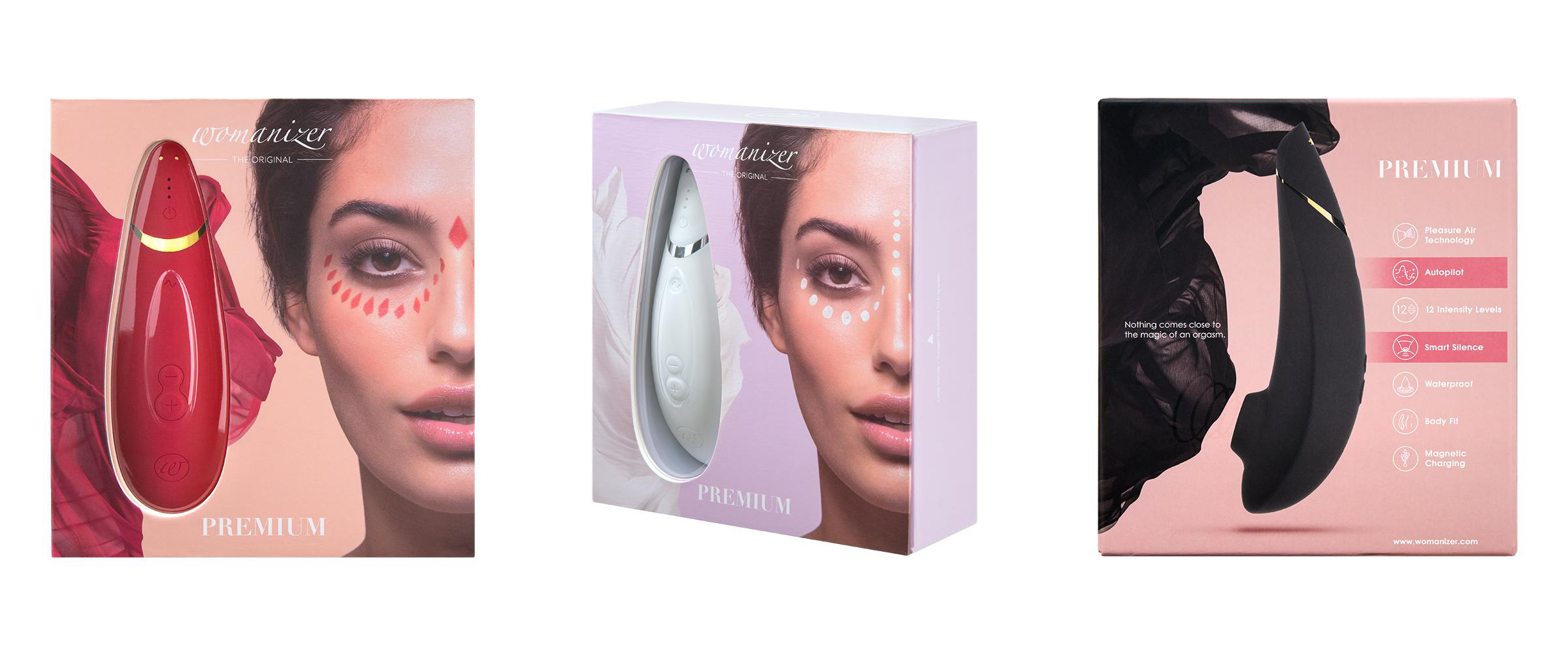 Womanizer Premium Vibrator with Pleasure Air Technology | Lexi Sylver