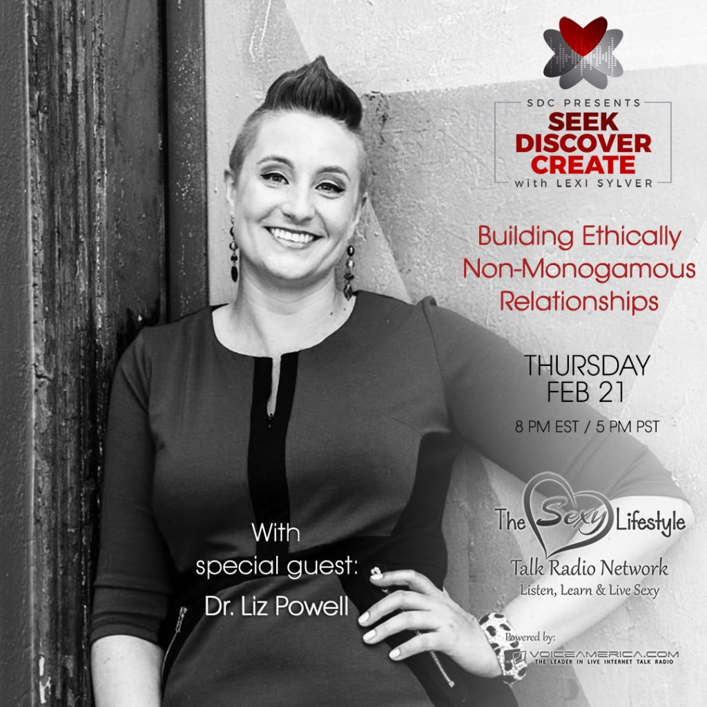 Dr. Liz Powell Building Open Relationships Lexi Sylver SDC Podcast