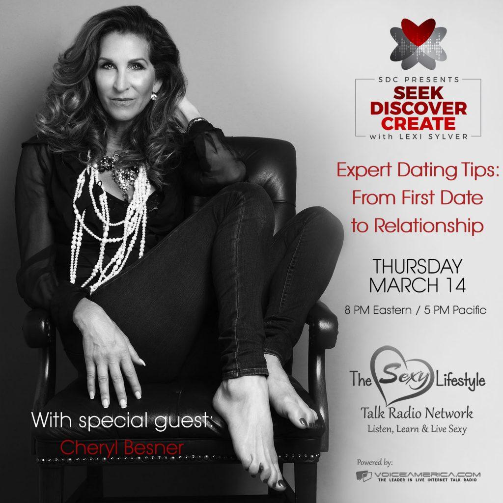 Cheryl Besner Lexi Sylver SDC Expert Dating Tips Podcast