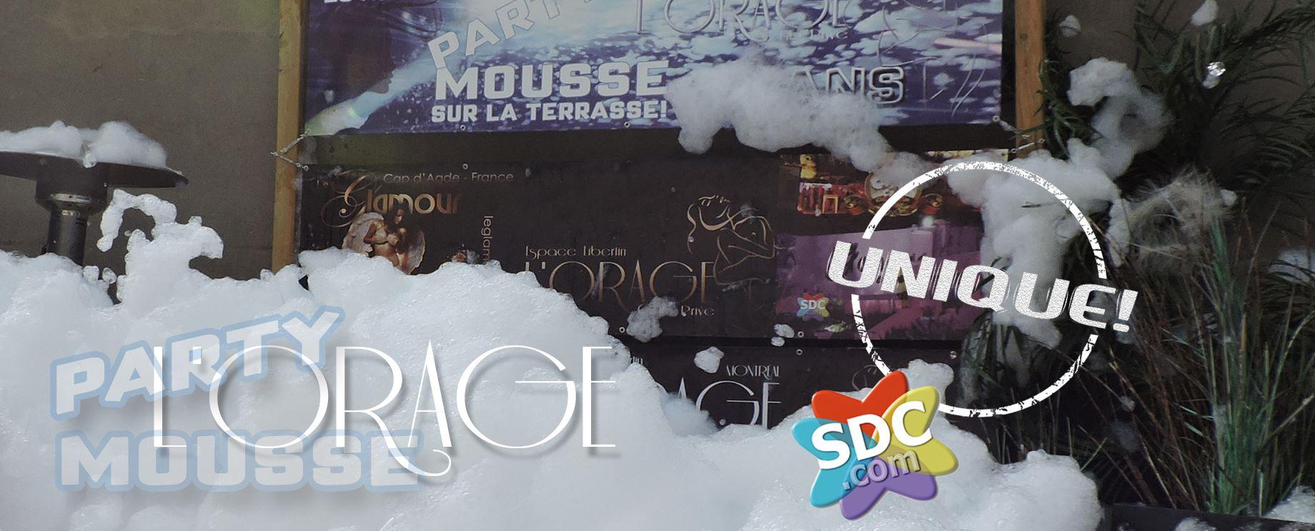 L'Orage Club Montreal Foam Party | Lexi Sylver