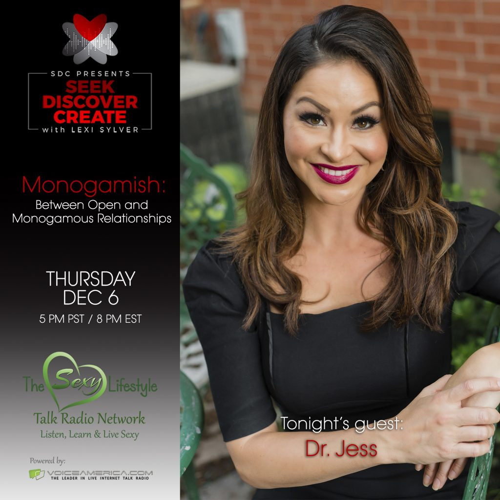 Dr. Jess on Lexi Sylver's Podcast | Seek Discover Create by SDC | The Sexy Lifestyle Network on Voice America