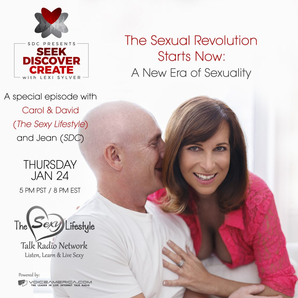 Carol and David The Sexy Lifestyle Lexi Sylver SDC Podcast Sexual Revolution