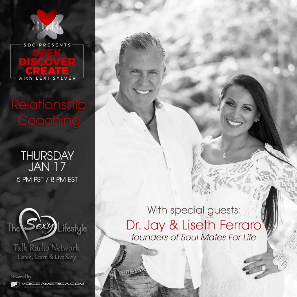 Dr. Jay and Liseth | Soul Mates For Life | Lexi Sylver SDC Podcast | The Sexy Lifestyle Network