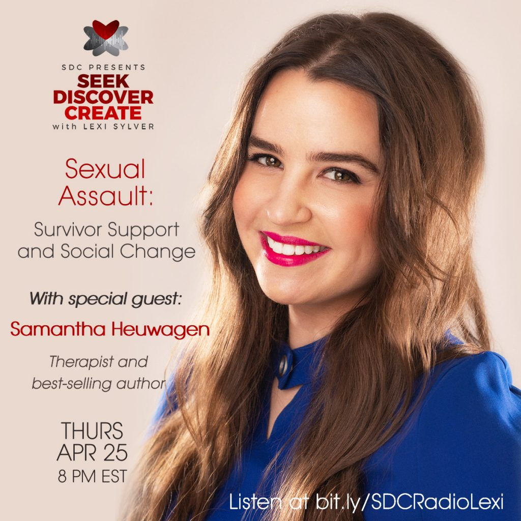 Samantha Heuwagen Lexi Sylver Sexual Assault SDC Podcast