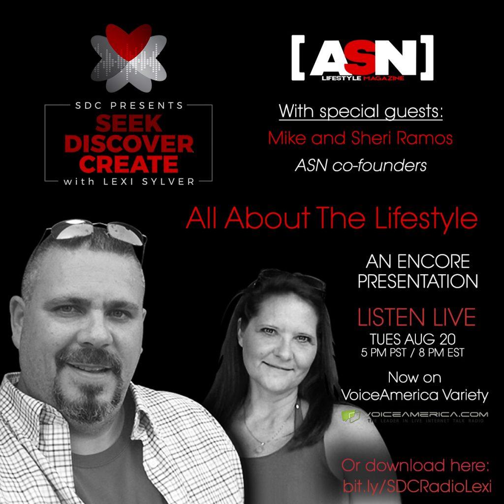 ASN Lifestyle Magazine | Swinger Lifestyle | Lexi Sylver SDC Podcast