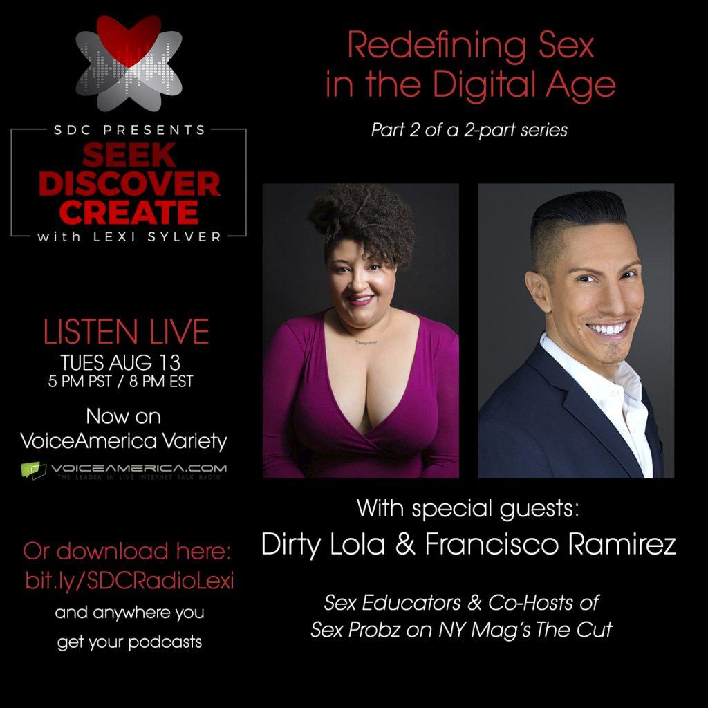 Dirty Lola Francisco Ramirez Sex Probz NY Mag The Cut Lexi Sylver SDC Podcast
