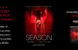 Mating Season Erotic Short Stories Lexi Sylver Cover