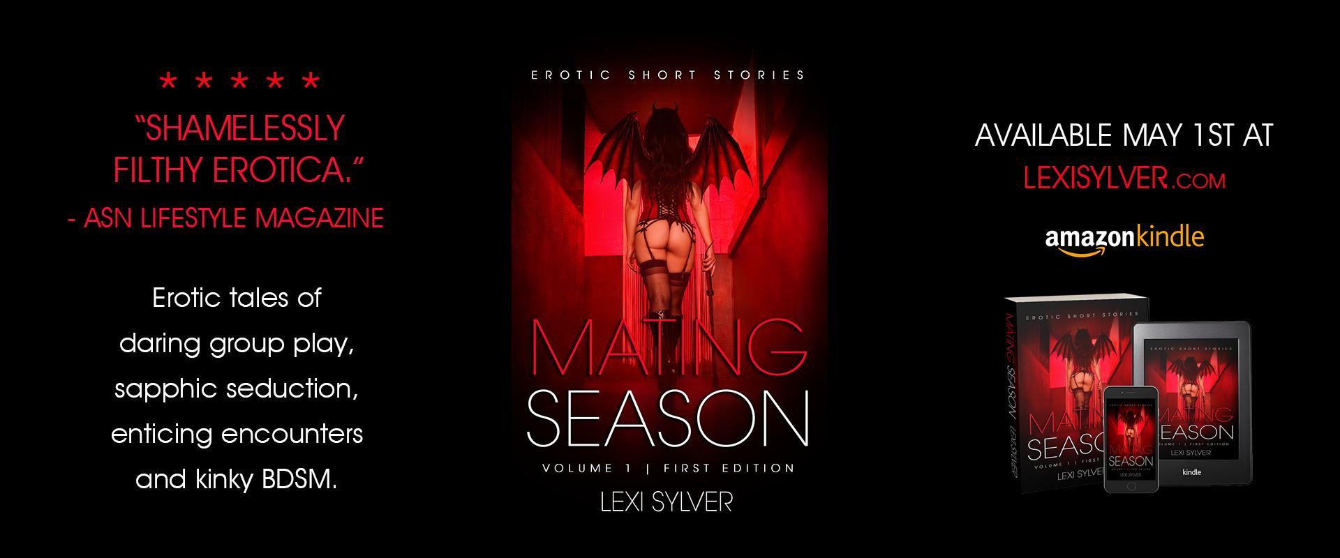 Lexi Sylver Mating Season ASN Lifestyle Magazine Spread