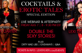 Lexi Sylver Cocktails and Erotic Tales Casey Carter