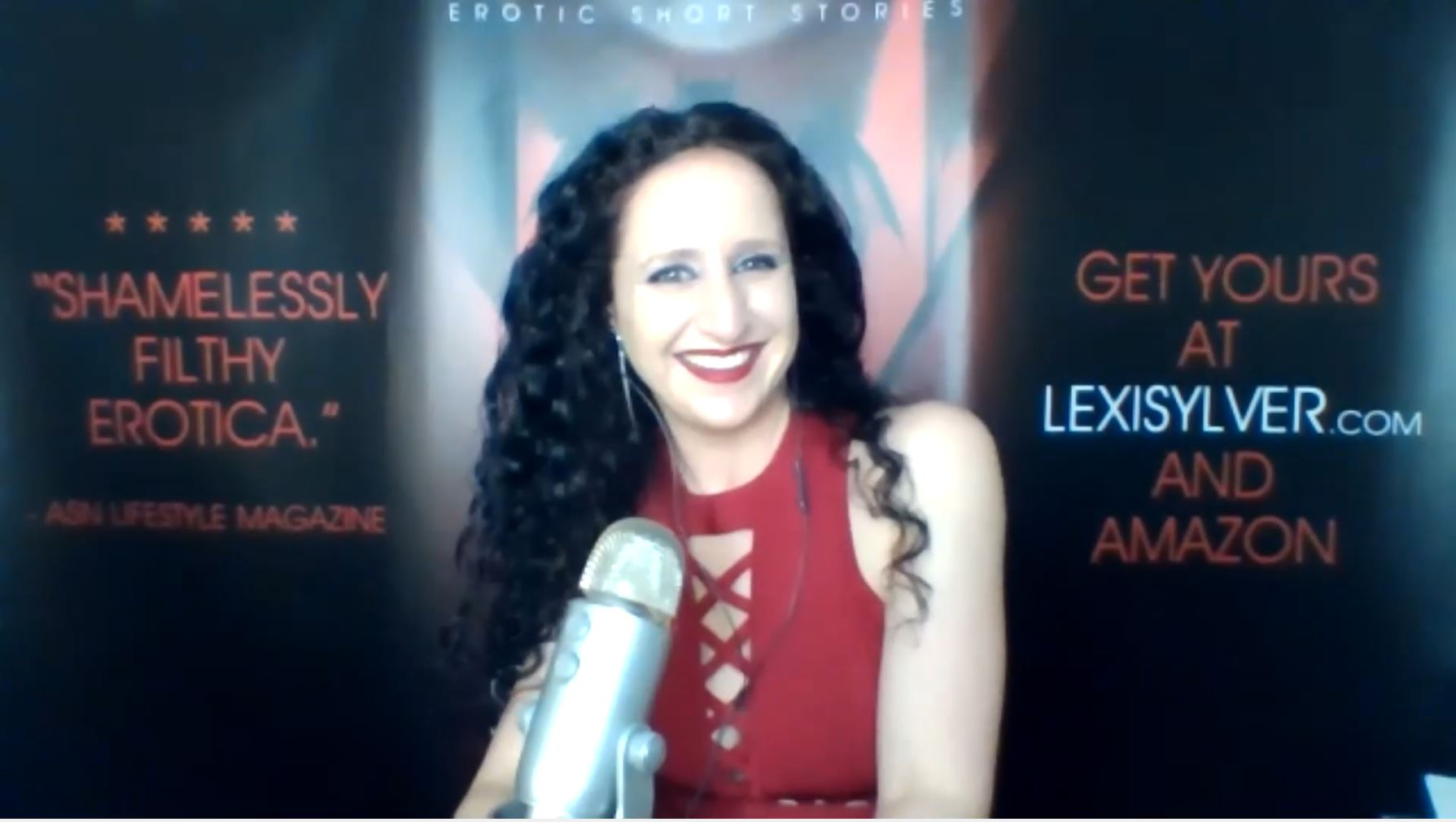 Lexi Sylver Erotica LIVE Cocktails and Erotic Tales